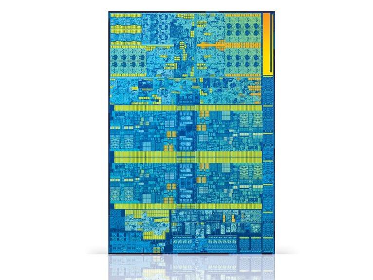 Intel's Skylake processor's architecture.