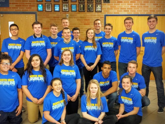 North High School Drumline will perform at Unity Music