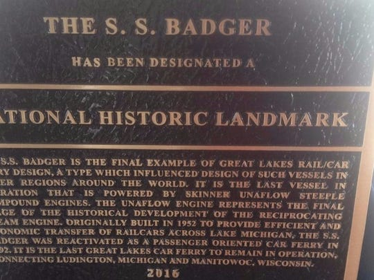 The S.S. Badger will start sailing for the first time