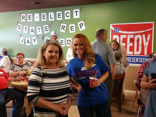 More than 60 supporters attended a recent event in Erin to kickoff Jay Reedy's re-election campaign.