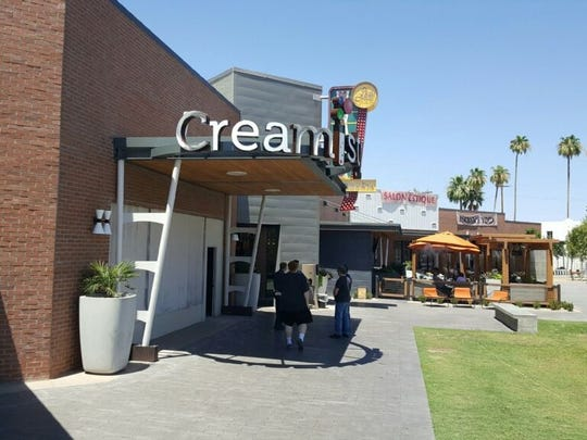 Creamistry Uptown Plaza.