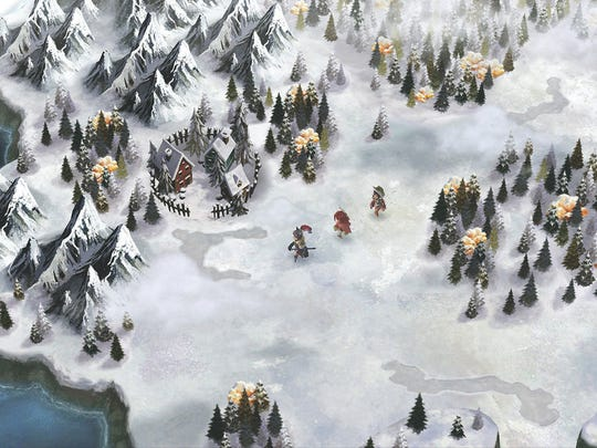 I Am Setsuna features a snow-filled landscape with classic JRPG touches.