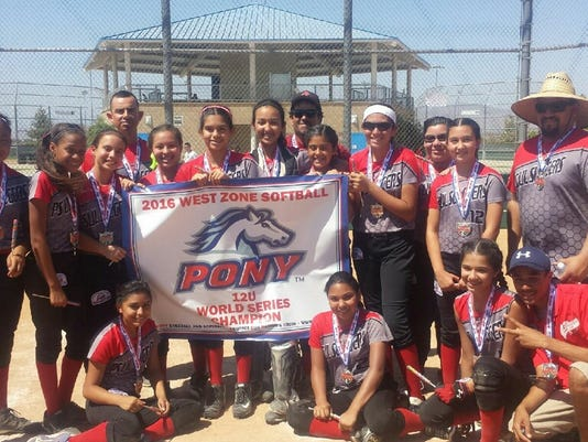 Palm Springs Lil Sluggers display third banner