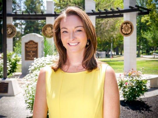 WROC-TV (Channel 8) chief meteorologist Stacey Pensgen.
