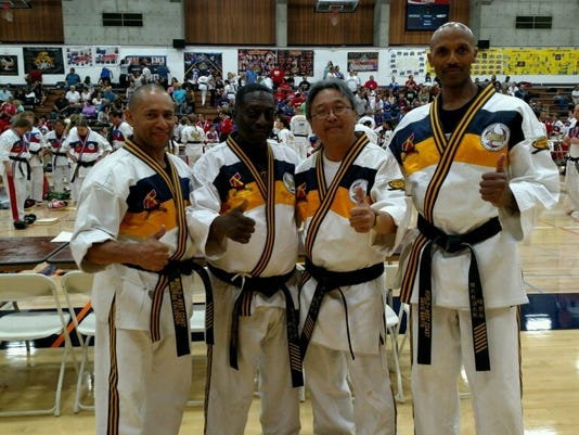 Martial Arts Master Instructor travels to California