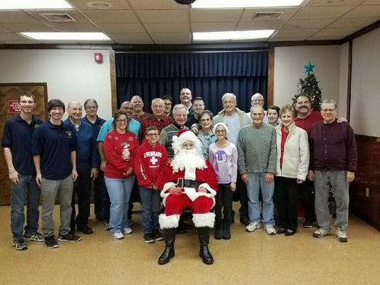 South Plainfield: Christmas party held Dec. 21 PHOTO CAPTION