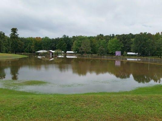 Pittsville flooding