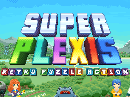 Super Plexis, a Naples-made retro puzzle action game, was inspired by the Nintendo 64 games Andrew Gundlach and Gabe Basham used to play as kids.
