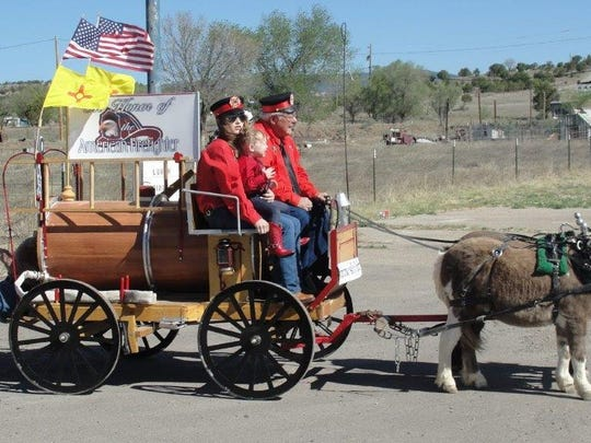 Smokey Bear Days Parade begins at 10 a.m. Saturday.