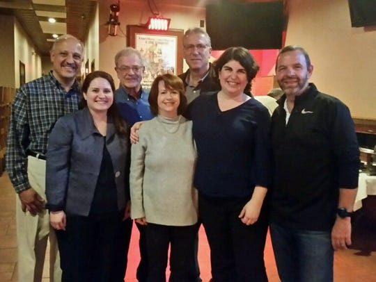 Hyde Park officials celebrated after the Nov. 7 election.