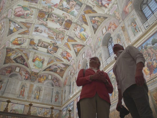 The Vatican's Sistine Chapel with its famous ceiling is a must-see for visitors to Rome. Some tour companies arrange for visits during off-hours allowing for more leisurely viewing.