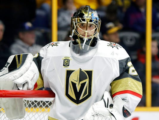 Marc-Andrew Fleury, Vegas Golden Knights