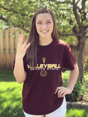 15-year-old setter Allie Gray of Omaha, Neb., has committed