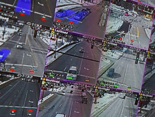 Video feeds from adaptive signal control technology
