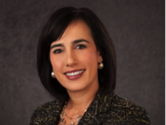 Monica Vargas-Mahar, new board chair of the United Way of El Paso County.