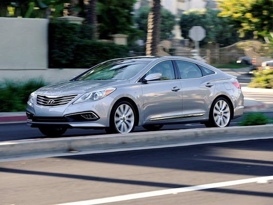 The 2017 Hyundai Azera.