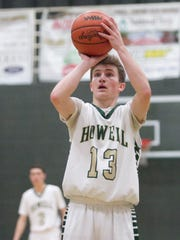 Johnny Shields of Howell contributed 21 points, including