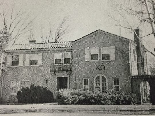 The Chi Omega sorority in the 1950s.