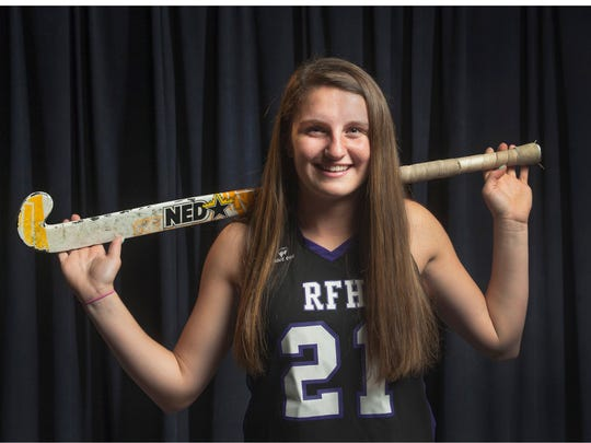 All Shore Field Hockey Player of the Year Madison Maguire, Rumson-Fair Haven. Photo taken on December 4, 2014 in Neptune, NJ. Peter Ackerman/Staff Photographer