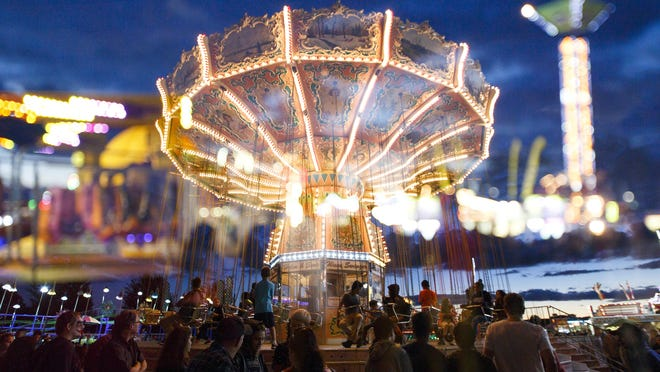 The Oregon State Fair runs Aug. 25-Sept. 4. $8 (12 to 64), $6 ages 6 to 11 or $1 ages 65 and older; $5 parking.