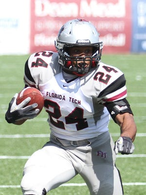 Florida Tech running back Gary Holmes, a West Palm Beach native, has recovered from his ACL injury.