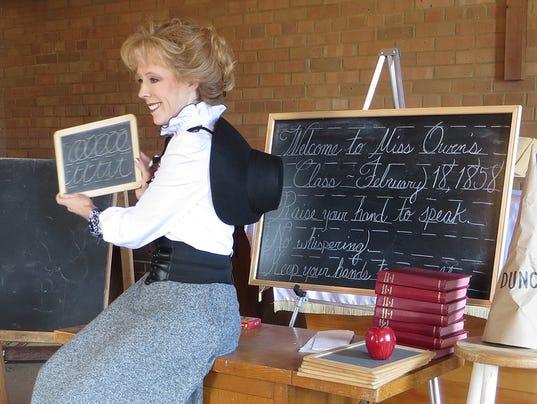 Tiffanie Owen schoolmarm