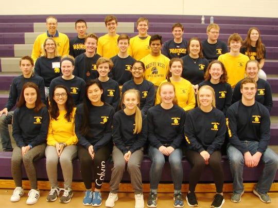 Wausau West Science Olympiad teams are coached by Paul