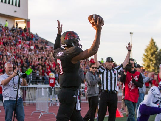 College football: Weber State at Southern Utah in Cedar