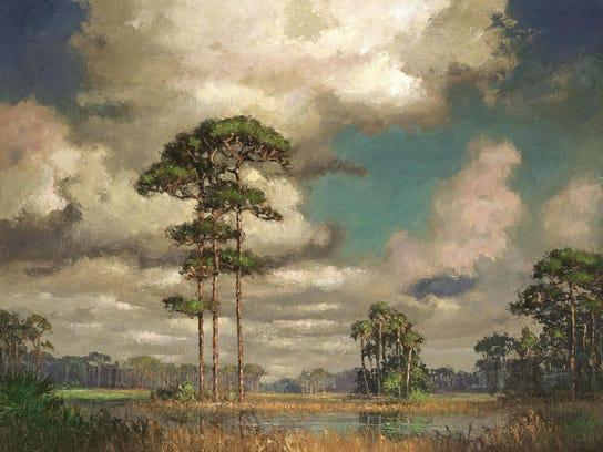 A.E. Backus Highwaymen art