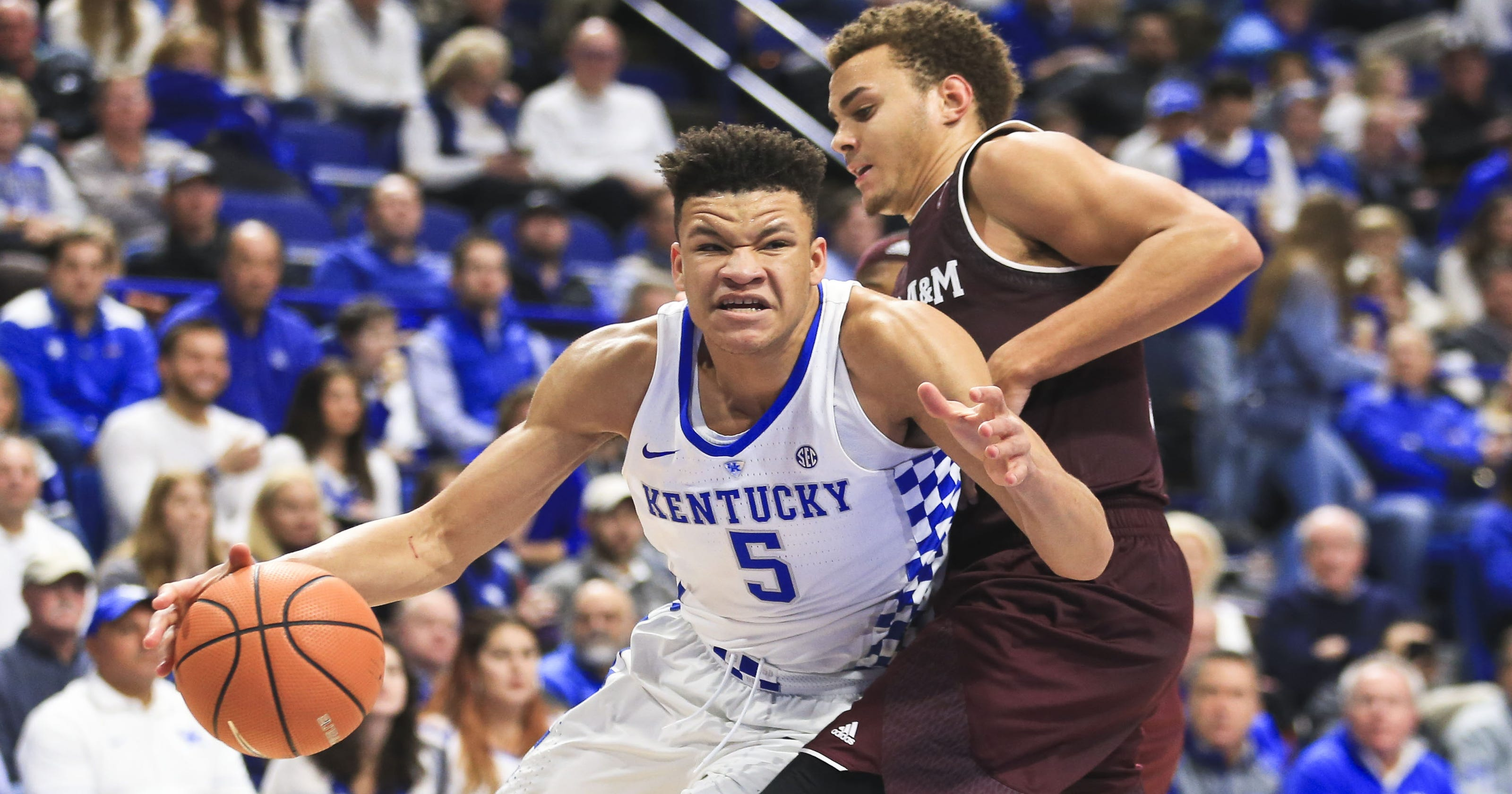 Kentucky basketball s Knox retains eligibility and his poise  d274bae20