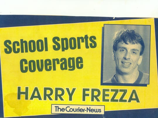 A billboard ad from 1997 promoting Harry Frezza.