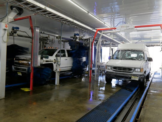 Asbury Circle Car Wash in Neptune has two wash tunnels