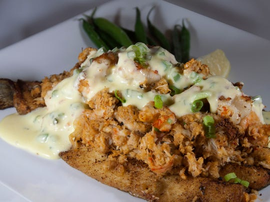 The stuffed trout has been Edgewater Supper Club's most popular dish.