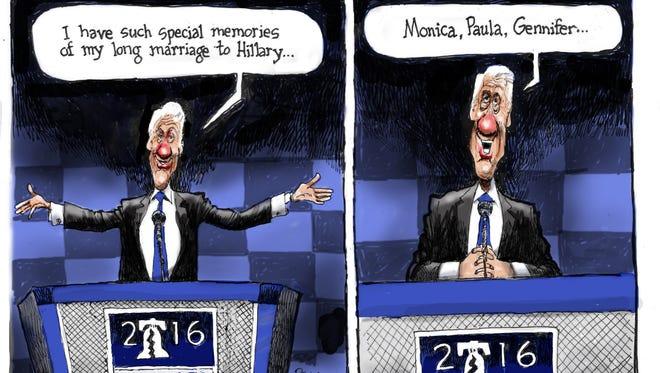 Cartoon for July 29, 2016.