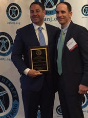 John Gallucci (left), president of JAG Physical Therapy,