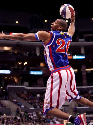 The Harlem Globetrotters stop in Springfield on Feb. 3 as part of their 2017 World Tour.