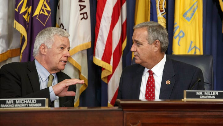 Rep. Jeff Miller, R-Fla. (right), and the panel he chairs, the House Committee on Veterans' Affairs, were instrumental in being the first to aggressively home in on what the VA said it was doing and what veterans were seeing firsthand.