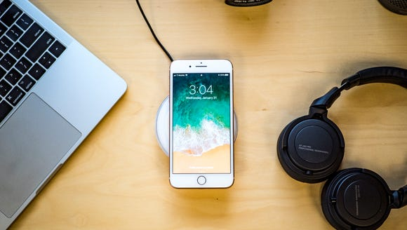 Charge your phone fast and wirelessly.