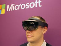 Microsoft workers protest HoloLens headsets for army