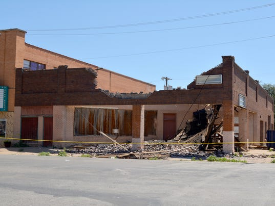 Vernon building collapse