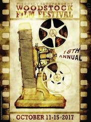The poster for the 2017 Woodstock Film Festival.