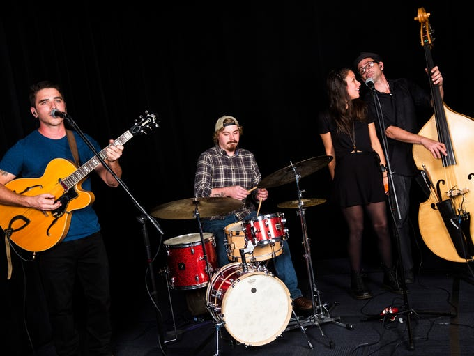 The Woodwork performs in the Naples Daily News studio