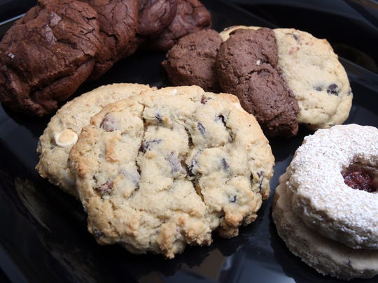 An assortment of Cardoso Cookies photographed in the