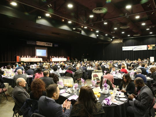 The Catharine Street Community Center 27th annual Martin Luther King Jr Breakfast where he was key note speaker on Friday, Jan. 19, 2018.