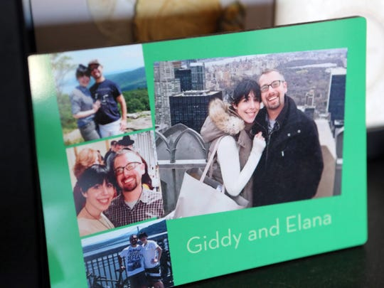 Photos of Elana and Giddy Straus at their home in Monsey