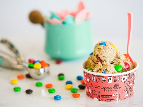 Scoopwell's Oatmeal Cookie dough flavor.