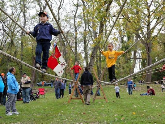 Boy Scouts Thunderbird Games