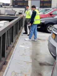 BUR 0613 Parking garage condition