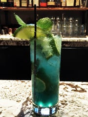 Severin Bar will add blue curacao to a mojito for a Colts-inspired twist.