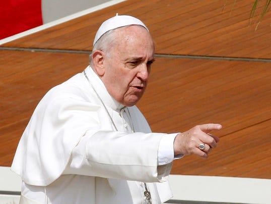 AP Vatican Palm Sunday